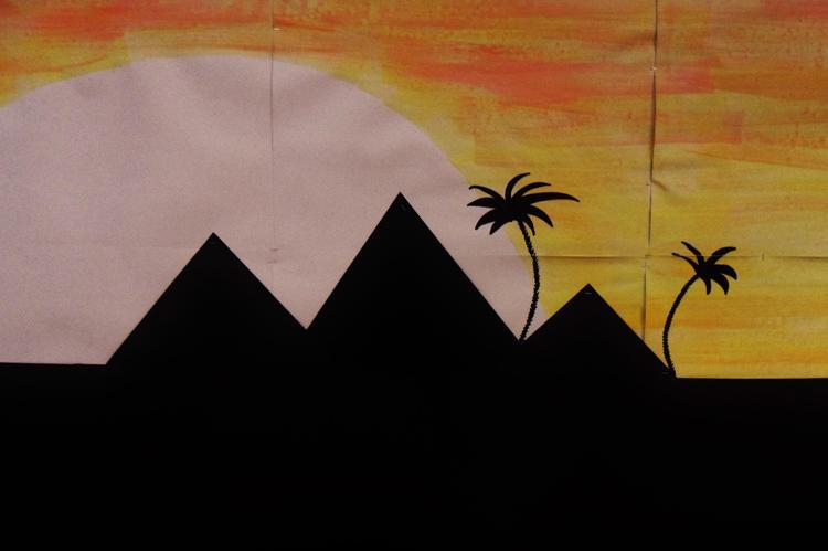 A land of mystery under the burning, desert sun...
