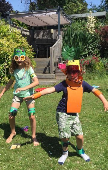 'Rio Carnival Costumes and Samba!' Artie (Class 1)