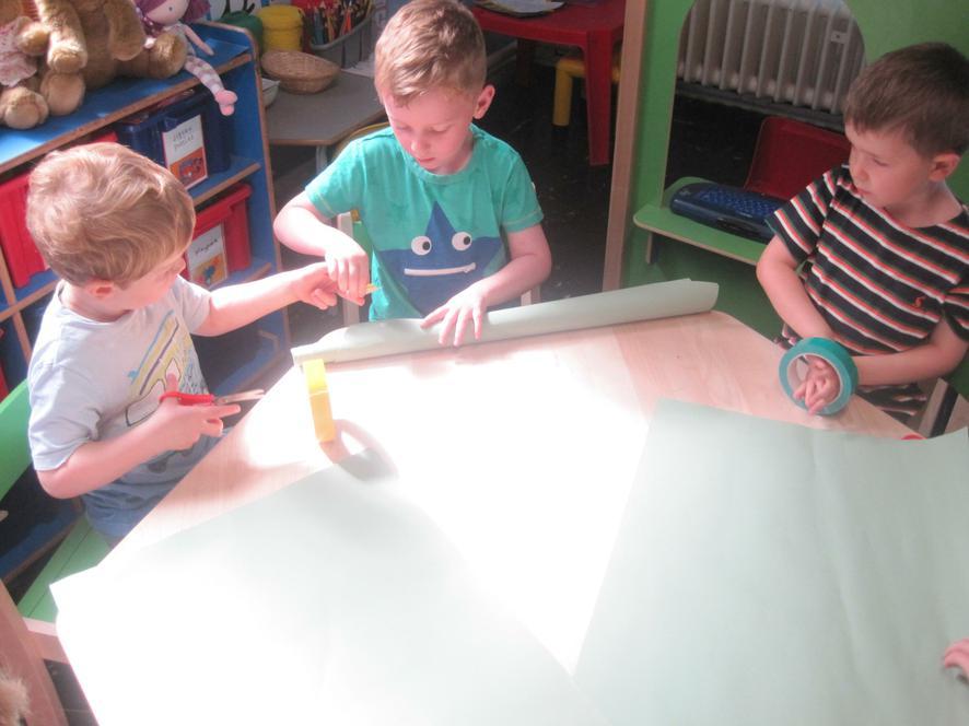 Teamwork challenge: Building a beanstalk model!