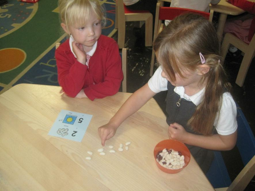 Counting groups of magic beans!