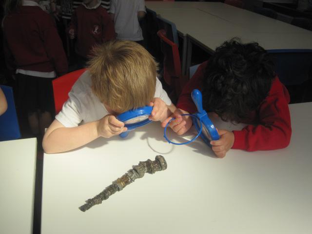 Building a dinosaur spine!