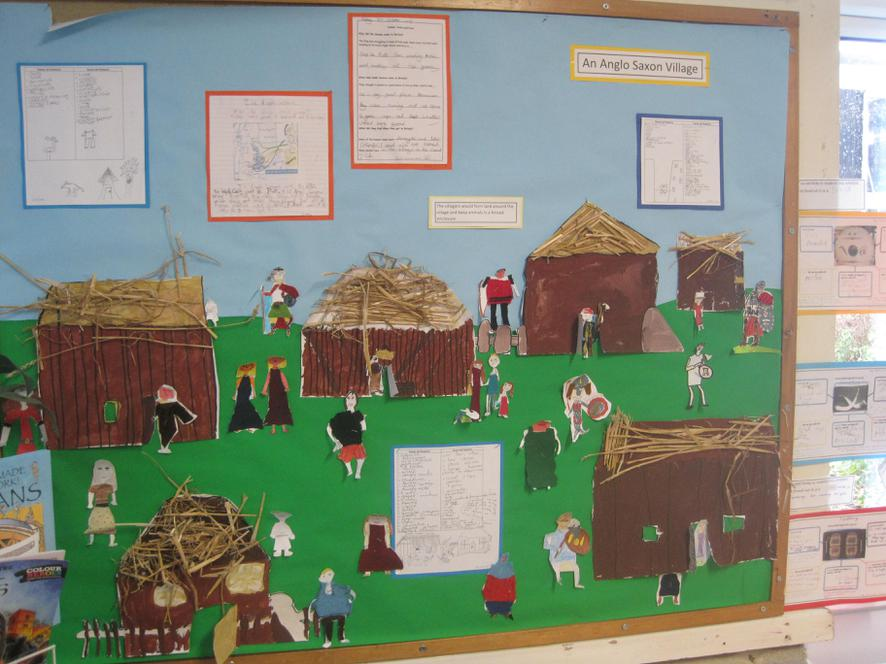 An Anglo Saxon Village