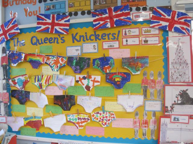 Class R - The Queen's Knickers!