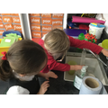 We measured 100ml exactly each time.