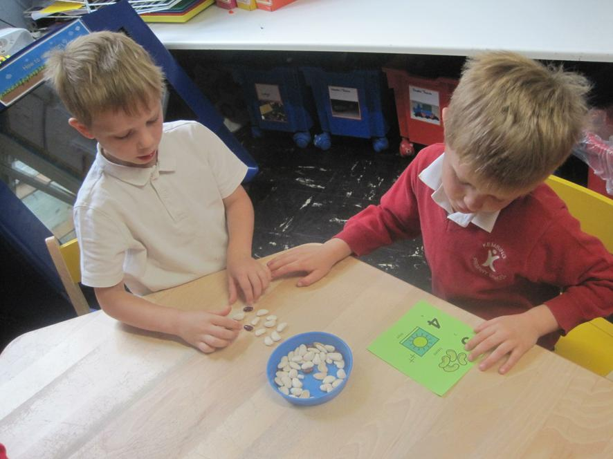 We can choose our own challenges in Maths!