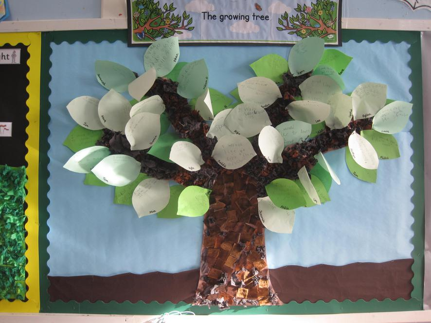 Class 2 - The Growing Tree