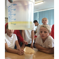 We discussed how to separate oil from water.