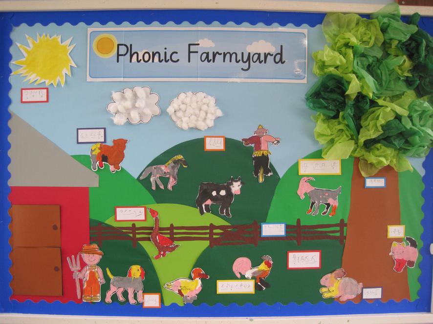 Class R - Phonics Farmyard