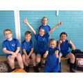 The Orienteering team came from years 3-6.