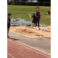 Violet stunned the watching kids with her 4m jump!