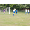 Girls Football in action.