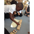how many blocks does it take to measure it?