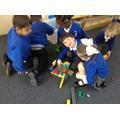 Building a house of bricks