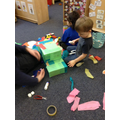 what shapes did we use to build the dragon?