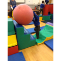 developing challenges in soft play