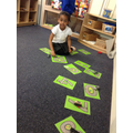 forming numbers with cars