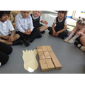 We can compare sizes of blocks