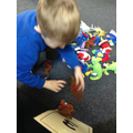 Matching objects to numbers