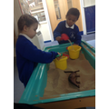 exploring capacity in the sand tray