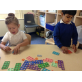 Working with numbers to 20 using Numicon