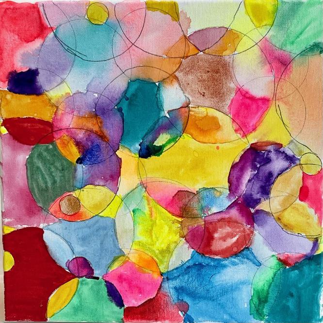 'Rainbow bubbles'