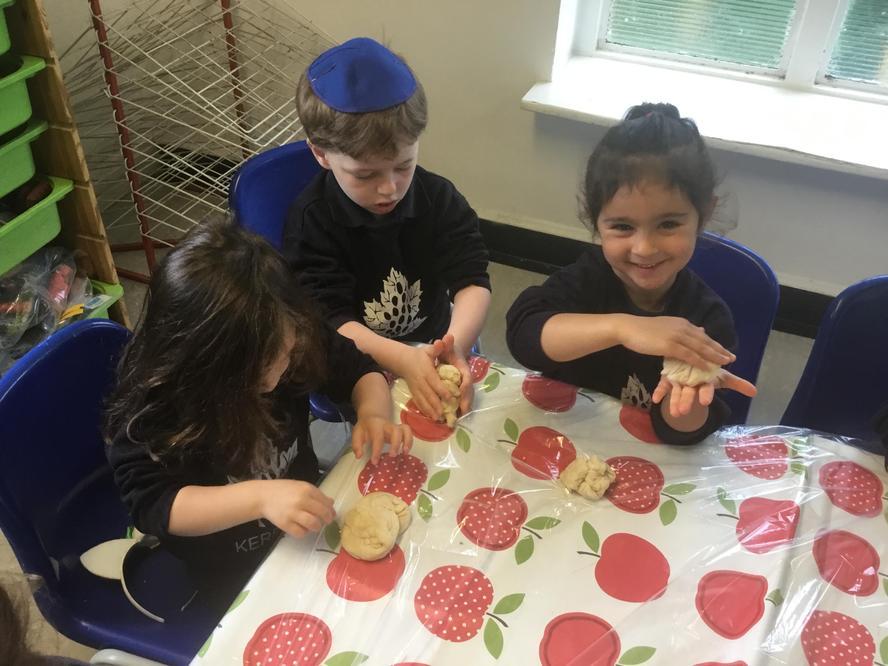 Making challah