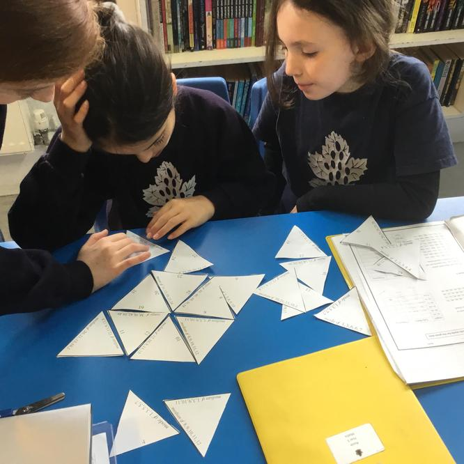 Maths puzzles- together we can work it out