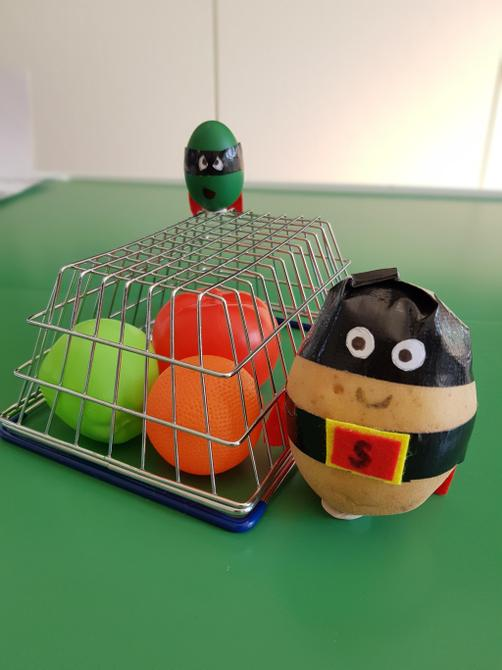 Mwahaha! What a brilliant Supertato and trap!