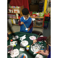 Ice-cream messy play tricky word exploration