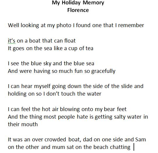 Florence's wonderful holiday poem
