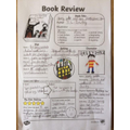 A book review completed by Alice