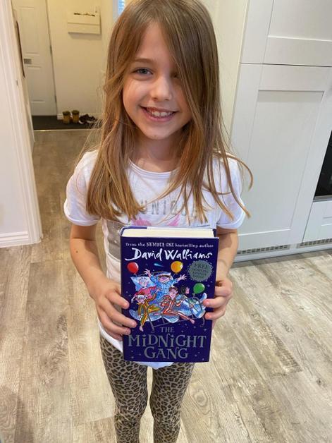 Georgie has been reading