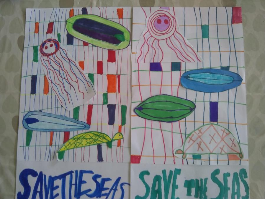 Holly also thinks we should save our seas!
