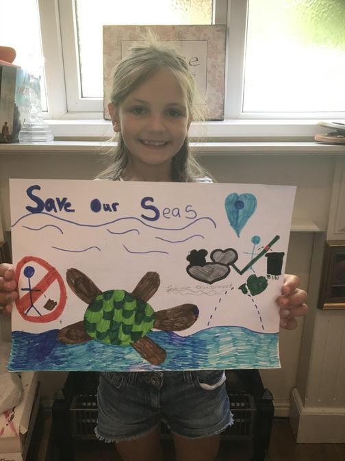 Georgia thinks we should 'Save Our Seas'!