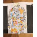 Rafferty's jacket collage.
