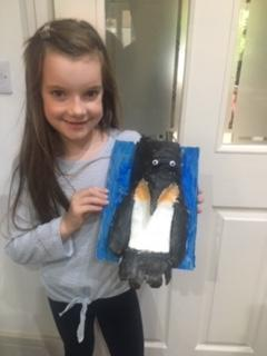 Great penguin, Isla! Well done!