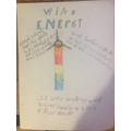 Noah's work based on wind energy.