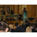 Sunita telling us the story of Rama and Sita