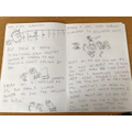 Some great writing and illustrations from Jayden.