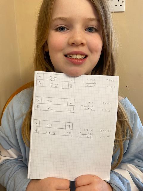Sophie has been  multiplying!