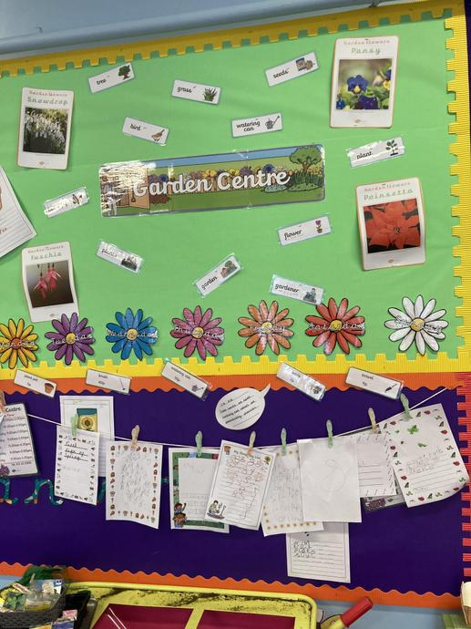 Our garden centre  role play area