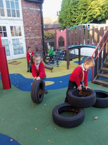 We are having soo much fun with the tyres!