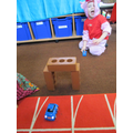 ICT - Playing with the remote control cars