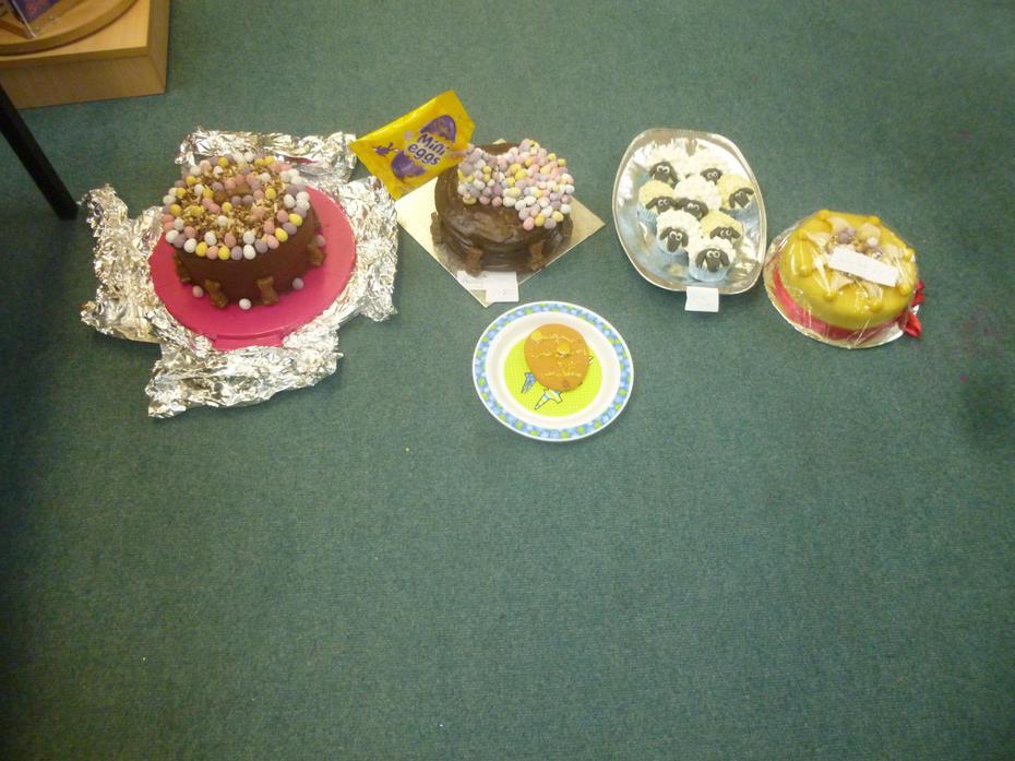 The winning cakes