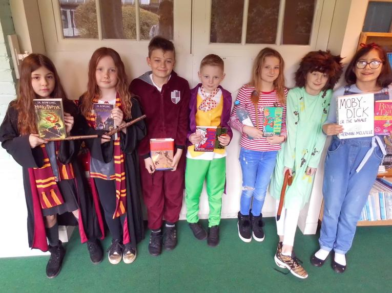 Harry Potter characters and Roald Dahl Characters