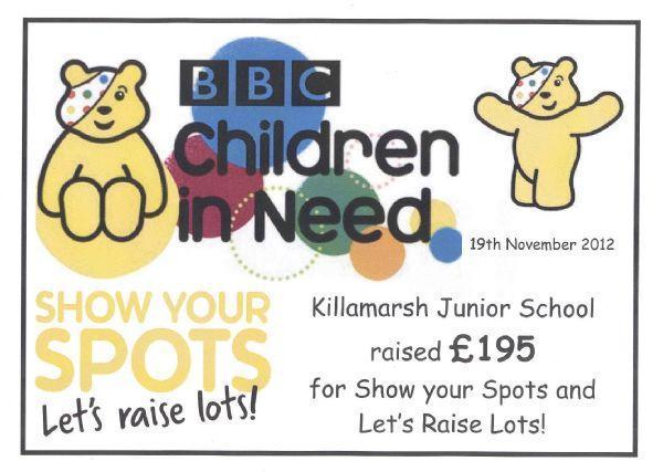 Children in Need 2012