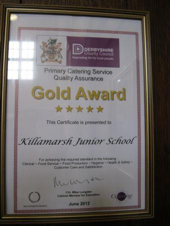 Gold Catering Award