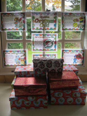 Operation Christmas Child - Shoe Boxes 'Oct 14
