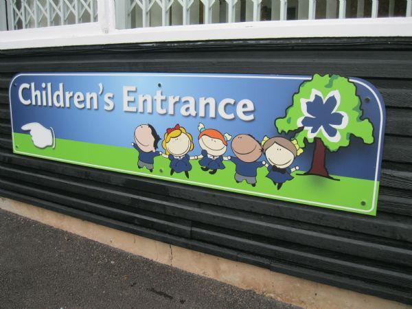 Children's Entrance