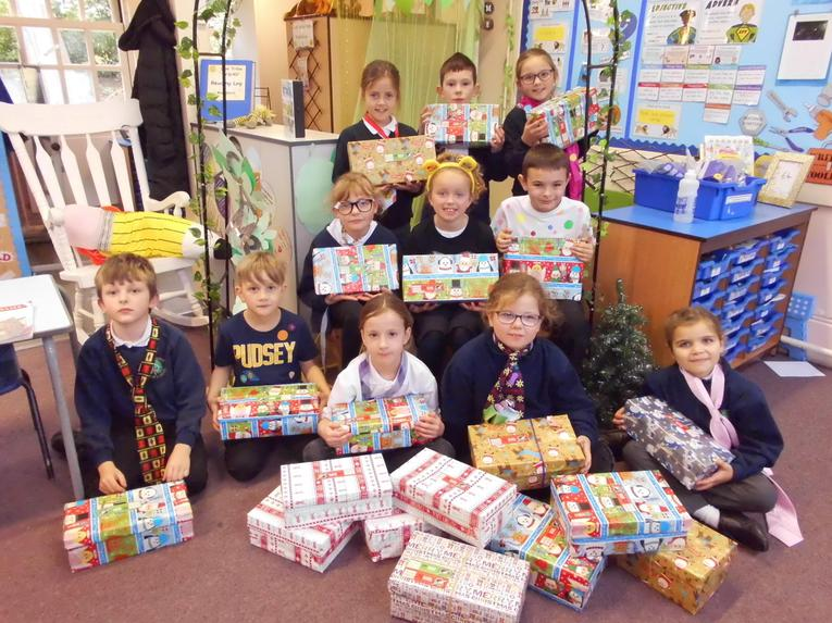 Opertion Christmas Child - Shoebox Appeal